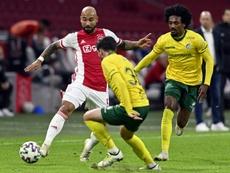 El Ajax va de paliza en paliza esta temporada. AFP/Archivo