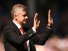 Solskjaer só dirá adeus se sua presença prejudicar os interesses do clube. AFP