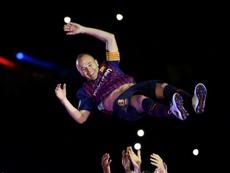 Iniesta volverá al Barcelona. AFP