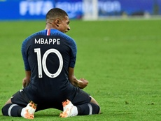 Mbappe won the award in 2018. AFP