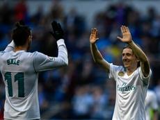 Modric pide la permanencia de Bale. AFP