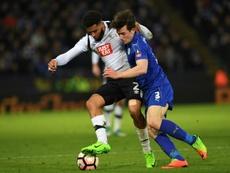 El United, a por dos piezas del Leicester. AFP