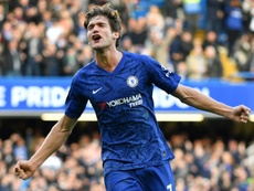 Inter go for Marcos Alonso. AFP