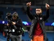 Fekir, la gran joya del Olympique de Lyon. AFP