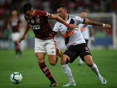 Mauro Carvalho, padre del jugador, analizó a Reinier. AFP
