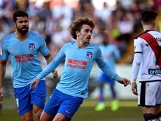 Griezmann deu 13 pontos ao Atlético. AFP
