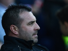 Unsworth's side late in three late goals at Goodison Park. AFP