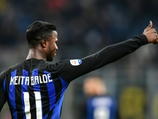 Keita Baldé est prêté par Monaco à l'Inter. AFP