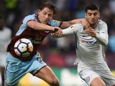 O Chelsea bateu o Burnley por 1-2. AFP
