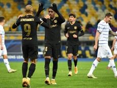 O Napoli consulta o Barça por Junior. AFP