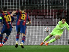 Koeman spoke about penalties. AFP