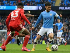City fans ask Silva to stay another year. AFP