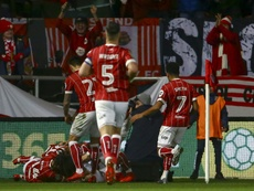 Bristol City dominated the game. AFP