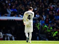 Ramos a été exclu contre Gérone. AFP