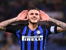 El Inter quedó apeado de la Champions. AFP