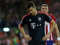 Bayern Munich's forward Robert Lewandowski. AFP