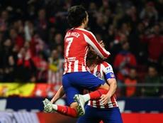 L'Atlético retrouve Joao Felix et enchaîne après Liverpool. AFP