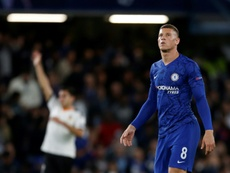 Barkley missed a penalty. AFP
