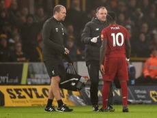 Sadio Mane will miss Liverpool's next few matches. AFP