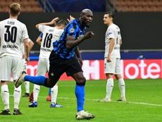 Romelu Lukaku could miss the Madrid match. AFP