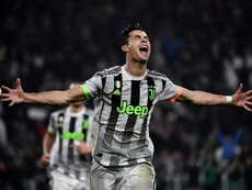 Juventus' Portuguese forward Cristiano Ronaldo was substituted for the second straight game.