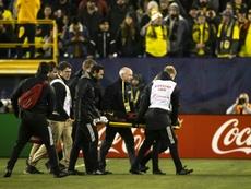 Josef Martínez se rompe el cruzado de la rodilla derecha. AFP