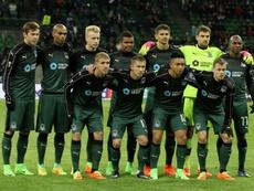 El Krasnodar empató contra el antepenúltimo clasificado. AFP