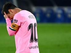 Lionel Messi a besoin de respirer. AFP