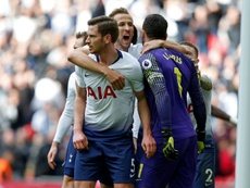 Premier match nul pour Tottenham. AFP