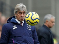 Pellegrini's West Ham future at risk after Arsenal loss. AFP/Archivo