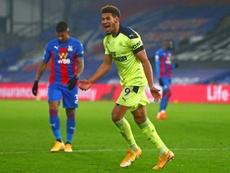El Newcastle no jugará contra el Aston Villa de momento. AFP