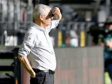 Favre est fier du résultat de son équipe. AFP