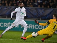 Moussa Dembele linked with a move to the Premier League. AFP