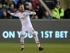 Juan Mata es uno de los mejores jugadores del Real Madrid que no actuó en partido oficial. AFP