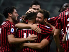 Milan now have a budget for next season. AFP