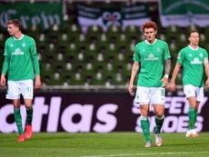 Bremen atropela o Paderborn e começa a ver a luz. AFP