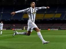 Cristiano Ronaldo, toujours plus haut. AFP