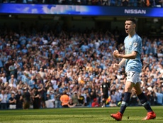 Man City like giving youngsters like Phil Foden a go. AFP