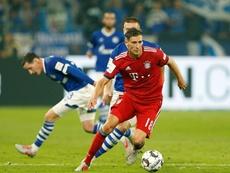 Bayern de Munique e Schalke 04 se enfrentam em uma das partidas mais esperadas da Bundesliga. AFP