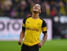 Jadon Sancho has been a star performer for Borussia Dortmund this season. AFP