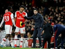 L'Arsenal offre il rinnovo a Aubameyang. AFP