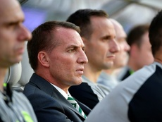 Rodgers is confident that his Celtic side will rise to the occasion against Leipzig next month. AFP