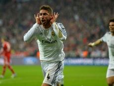 Ramos y était allé de sa patte. AFP