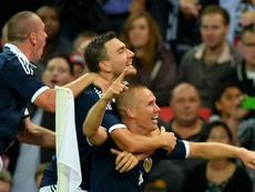 Miller has given his full support to Alex McLeish and the current Scotland squad. AFP