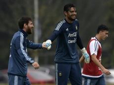 Sergio Romero por fin podrá salir del Manchester United. AFP