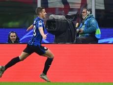 Pasalic hizo un doblete en el triunfo del Atalanta. AFP