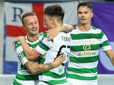 Celtic have given themselves a chance at continuing their Europa League journey. AFP