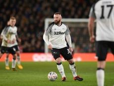 Ex de Manchester United e Everton, Rooney voltou ao futebol inglês em janeiro de 2020. AFP