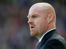Dyche has often been criticised for his negative tactics. AFP