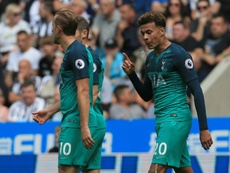 Dele Alli scored the winner for Spurs on Saturday. AFP